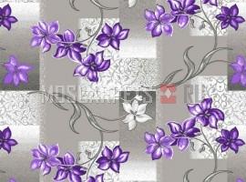 Палас Афродита 9425 серо-фиолетовый