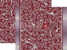 Палас Ренессанс 1313c4/85 жемчужно-бордовый