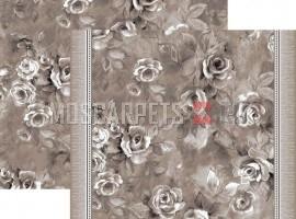Палас Анастасия 1611а2/100 бело-серый