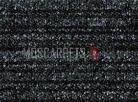 Ковровая Плитка Cuba Line (Куба Лайн) 3587 Черно-Серый