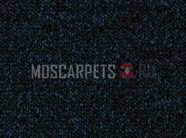 Ковровая плитка Cuba (Куба) 84 темно-синий