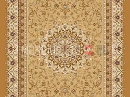 Палас Бухара (карпет) 1380a6/43 бежево-коричневый