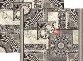 Паласная дорожка Афины 1559а1/100 серо-белый