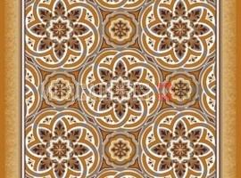 Паласная дорожка Висла 1726 бежево-коричневый