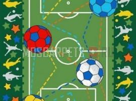 Ковролин Футбол зеленый