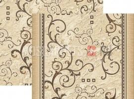 Паласная дорожка Аэлита 1612a2/103 шоколадный