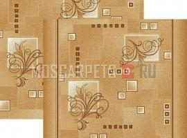 Паласная дорожка Виноградная лоза 1098/43 бежево-коричневый