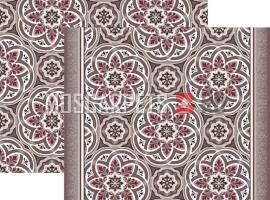 Палас Кордова 1507а6/85 жемчужно-красный