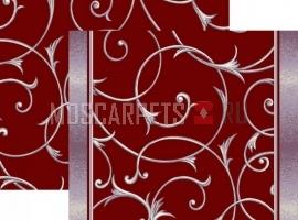 Палас Ренессанс 1313e4/85 жемчужно-бордовый