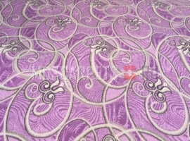 Палас Юнона 400 бежево-фиолетовый