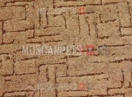 Ковролин Казбар 283 бежево-коричневый