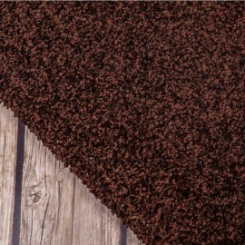 Ковролин Шагги 49 коричневый