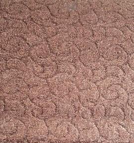 Ковролин Спираль 077 коричневый