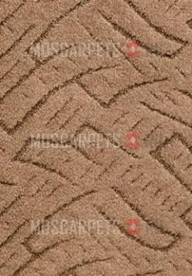 Ковролин Тополь 071 бежево-коричневый