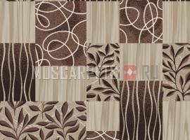 Палас Адель 1729 коричневый