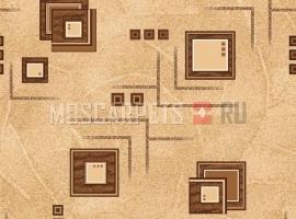 Палас Архимед 1723 бежево-коричневый