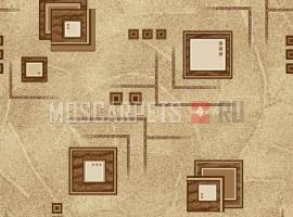 Палас Архимед 1933 коричневый
