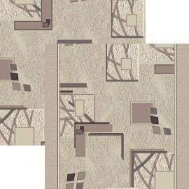 Палас Фасад 1587a2/100 серо-белый