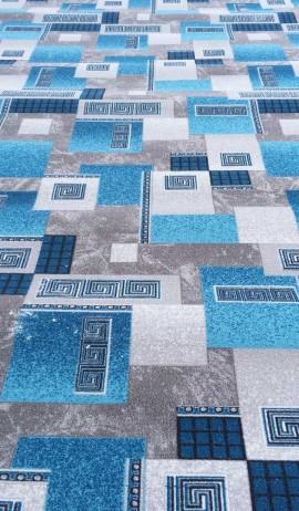 Палас Греция 1286/47 серо-голубой