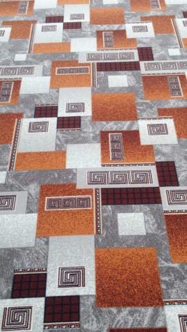 Палас Греция 1286/54 серо-коричневый