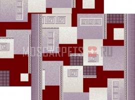 Палас Греция 1286/85 жемчужно-бордовый