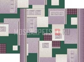 Палас Греция 1286/86 жемчужно-зеленый