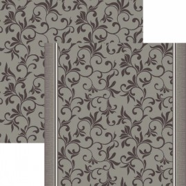Палас Колибри 1598a5/100 серый