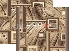 Палас Кора 1694/103 шоколадный