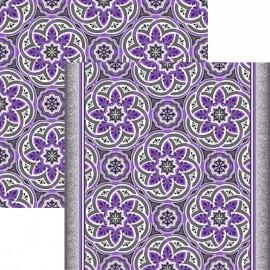Палас Кордова 1507а6/50 серо-фиолетовый