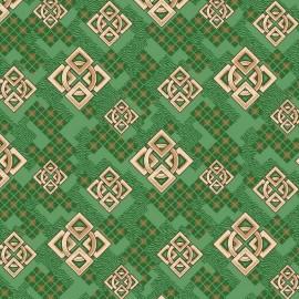 Палас Кристалл 600 зеленый