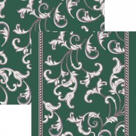 Палас Кружева 1288/86 жемчужно-зеленый