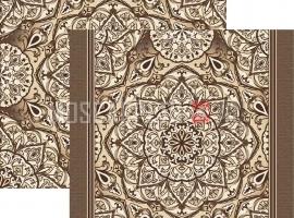 Палас Куфи 1522а4/103 шоколадный