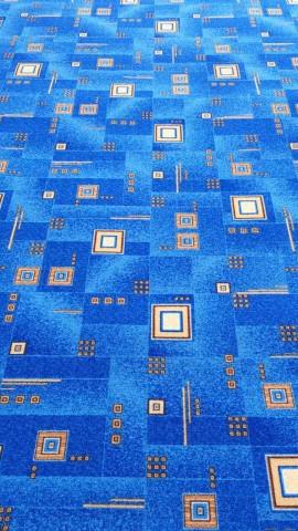 Палас Квадрат 1170c5/37 синий