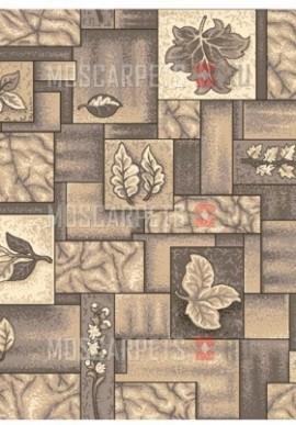 Палас Лаура 190 серо-коричневый