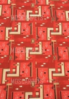 Палас Лестница 1183/45 красный