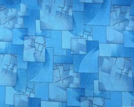 Палас Марс 70 синий