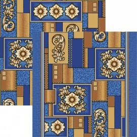 Палас Медуза 1519/37 синий