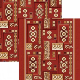 Палас Орнамент 1520/45 бордовый