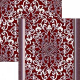 Палас Персия 1324/85 жемчужно-бордовый