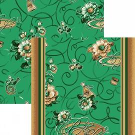 Палас Презент 1248b5/36 зеленый