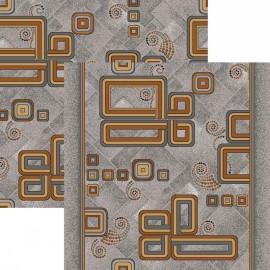 Палас Разворот 1311m2/54 серо-коричневый
