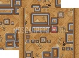 Палас Разворот 1311m5/54 коричневый