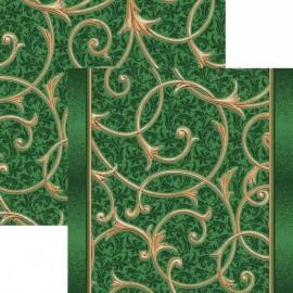 Палас Ренессанс 1313а5/36 зеленый