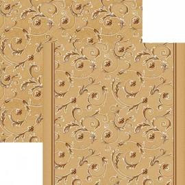 Палас Рококо 1243а2/43 бежево-коричневый