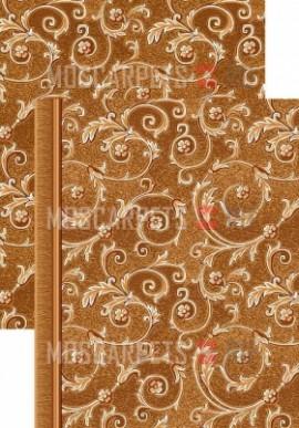 Палас Рококо 1243а4/43 коричневый