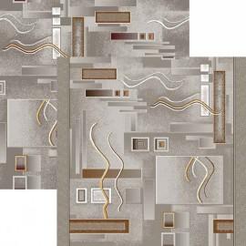 Палас Символ 1071/54 серо-коричневый