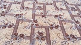 Палас Сорбет 1252/43 бежево-коричневый