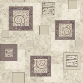 Палас Травертин 1563a2/100 бело-серый