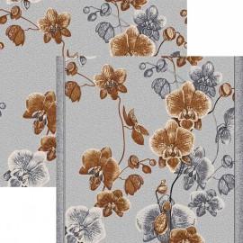 Палас Весна 1179/54 серо-коричневый