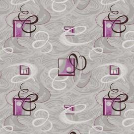Палас Вираж 924 серо-фиолетовый